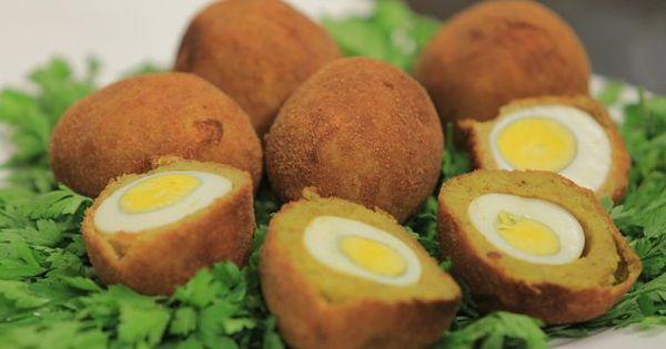 Cbc Sofra طريقة تحضير كرات البطاطس بالبيض المسلوق نجلاء الشرشابي Recipe Recipes Food Breakfast