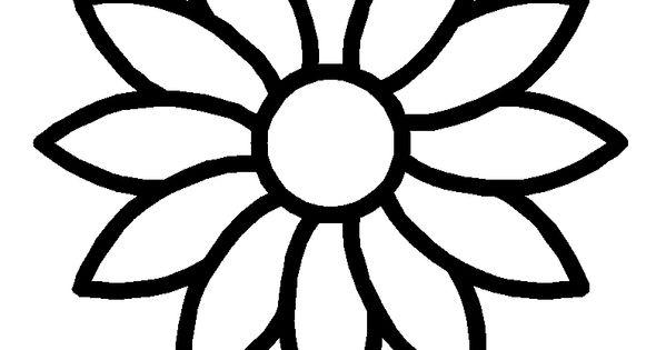 Image 68097 coloriage de marguerite coloriages pinterest stenciling silhouettes and - Coloriage fleur tps ...