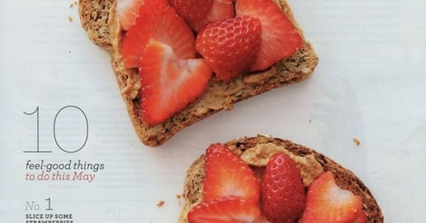 Healthy food - doesn't link but its peanut butter or almond butter