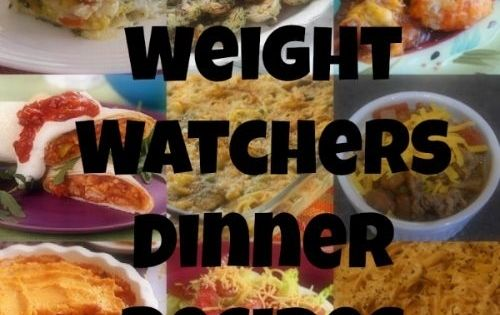30 Yummy Weight Watchers Dinner Recipes, plus links to other great WW