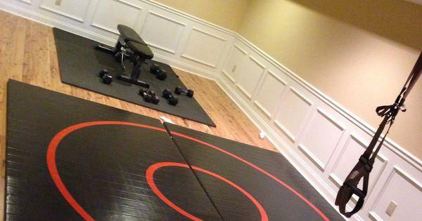 basement wrestling room wrestling room pinterest my boys my