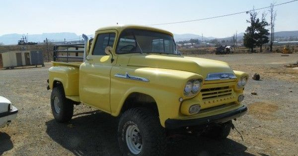 1957 Chevrolet Pickup Converted To Four Wheel Drive With Later K10
