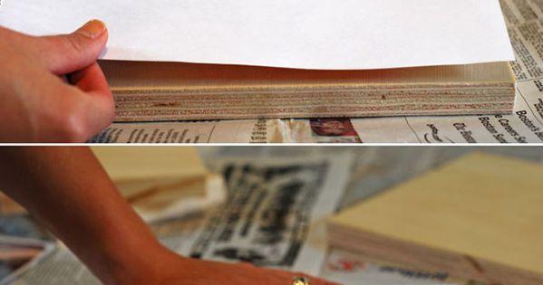diy transf rer ses photos sur du bois colle et papier photo pinterest transfert bricolage. Black Bedroom Furniture Sets. Home Design Ideas