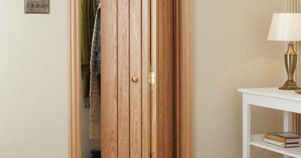 Wickes Fitted Wardrobes >> Dordogne Oak Bi-Fold | Internal Hardwood Doors | Doors ...