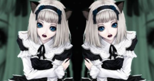Evil Anime Twins | Scary Twins | Pinterest | Anime and Twin