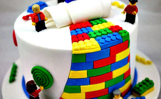 LEGO Cake Ideas: bean Lego party
