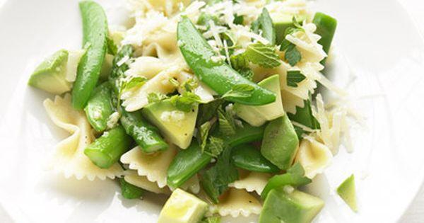 Snap peas, Avocado pasta and Asparagus on Pinterest