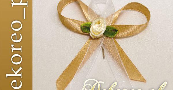 Hit Kokardki Przypinki Kotyliony Dla Gosci 10 Szt 2398459739 Oficjalne Archiwum Allegro Maid Of Honor