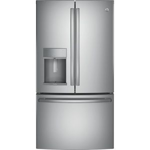 Ge Profile Series Gpye22kskss French Door Refrigerator Stainless Steel Counter Depth French Door Refrigerator French Door Refrigerator French Doors