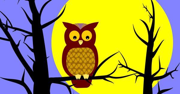 Owl In Tree Clip Art Owl In Tree Free Clip Art Give