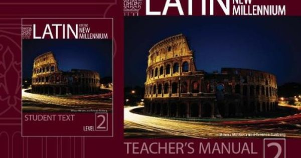 Download Free Latin For The New Millennium Level 2 Pdf With