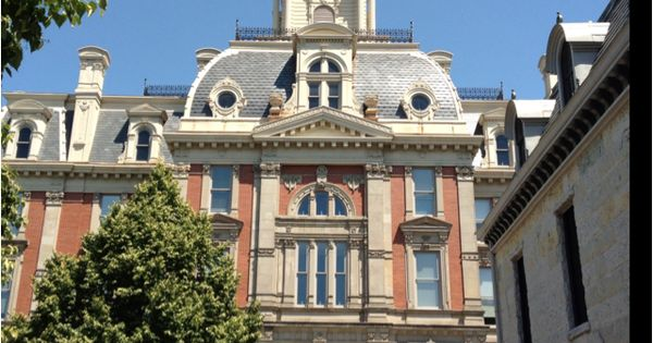 Courthouse Hamilton County Noblesville Indiana Usa Cities