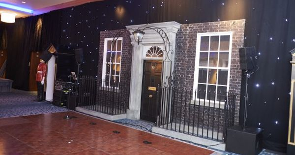 Number 10 Downing Street Entranceway Around The World Theme
