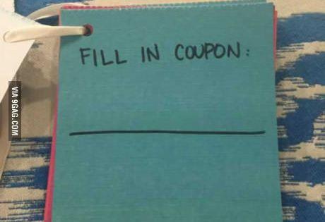 9gag girlfriend coupons