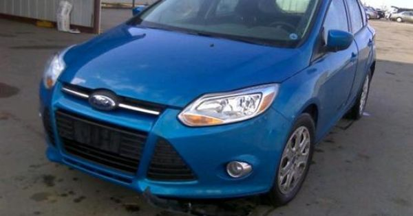 2012 Ford Focus Perdida Theft Primario Theft Ford Focus Ford
