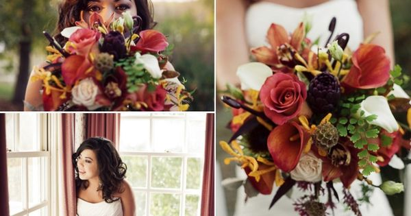 Bridal bouquet - photo