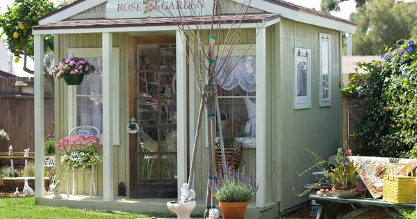 Garden sheds are very open and airy this is where your for Very small garden sheds