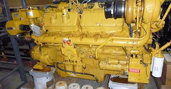 3412 Caterpillar Marine 1250HP DIESEL ENGINE FOR SALE