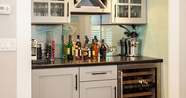 Amazing Wet Bar decorating ideas for Comely Spaces Craftsman design ideas with