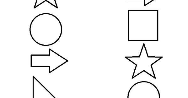 Pre-K Matching Worksheets