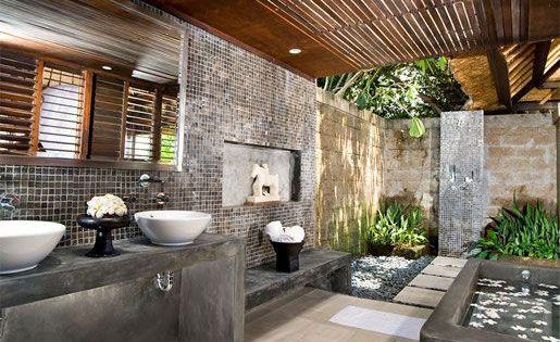salle de bain tropicale recherche google salle de bain pinterest salle de bain. Black Bedroom Furniture Sets. Home Design Ideas