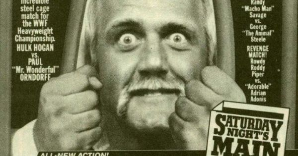 Saturday Nights Main Event Newspaper Add Wwf Hulk Hogan Tv Guide
