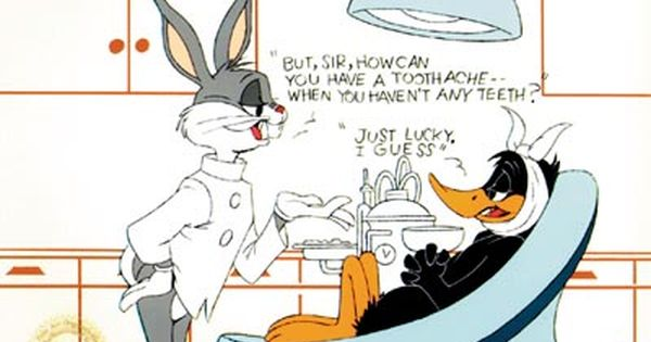Bugs Bunny Dental Funnies Always Interesting What You Can Find
