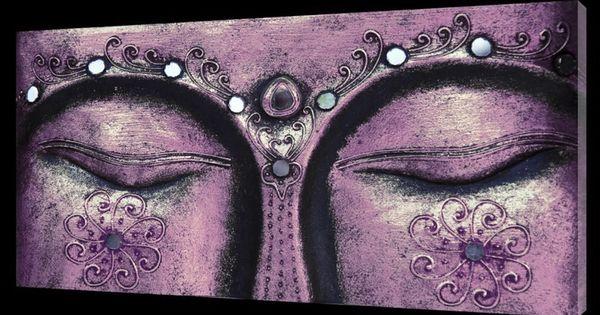Boeddha schilderij het derde oog paars 2087 800 579 buddha pinterest - Deco schilderij slaapkamer kind ...