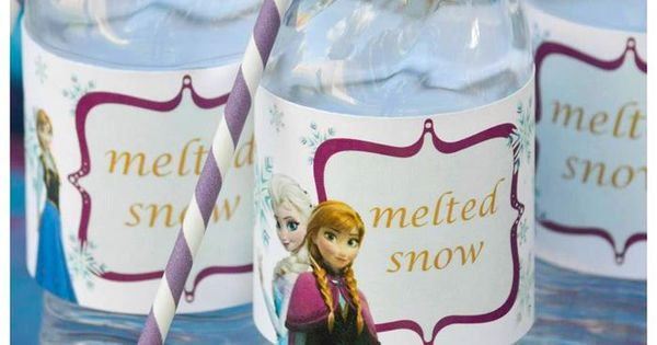 Disney's Frozen themed birthday party full of ideas! Via KarasPartyIdeas.com frozen frozenparty