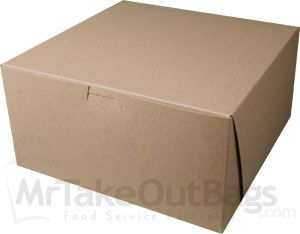 10 X 10 X 5 100 Recycled Brown Kraft Bakery Boxes Bakery Boxes Bakery Packaging Brown Kraft