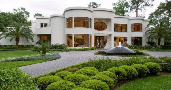 Fachadas de casas de lujo dise o l neas y estilos fotos for Mansiones de lujo en madrid