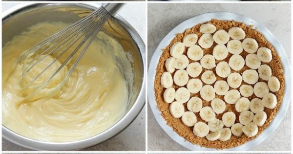 A CUP OF JO: Peanut-Butter Banana Cream Pie