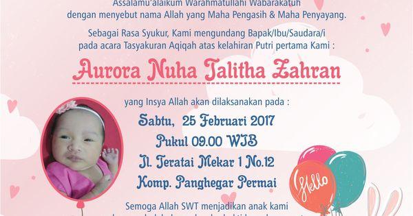 Bshsjsj Kartu Nama Kartu Bayi Undangan Perkawinan