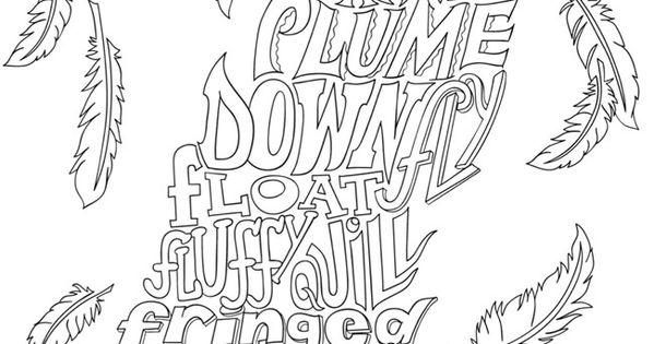 Creative Haven NATURE WHIMSY A WORDPLAY Coloring Book By