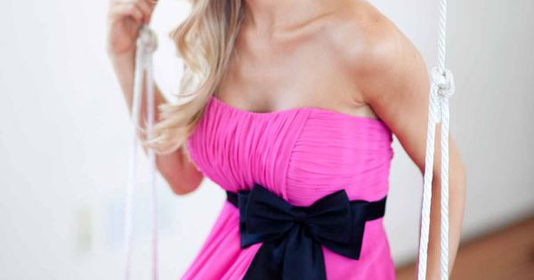 Pretty A-line Empire waist Chiffon bridesmaid dress wedding weddingideas bridesmaiddresses color chiffon