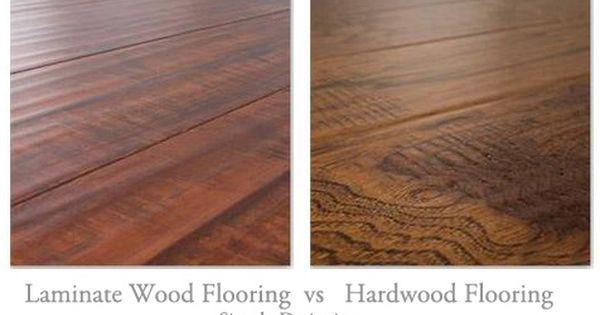 Floating Laminate Wood Flooring Vs Real Hardwood Flooring The Pros And Cons Of Laminate Flooring And Hardwood F Flooring Hardwood Floors Real Hardwood Floors