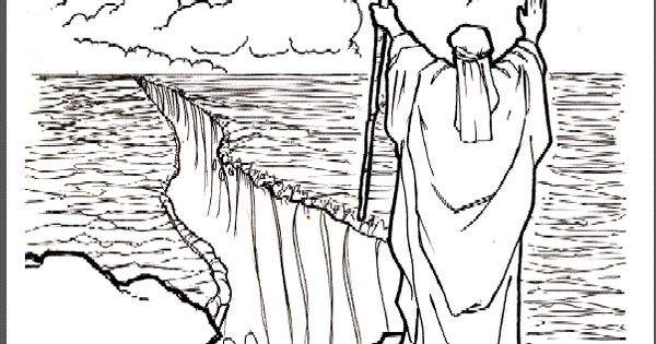 coloring pages story of moses - photo#25
