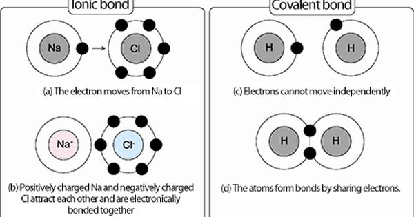 Ionic And Covalent Bonding Are Depicted In The Picture Ionic Bonds Is The Attraction Of A Cation To An An Teaching Chemistry Ionic Bonding Covalent Bonding