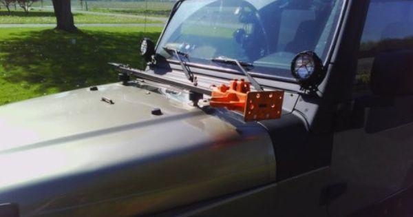 Hi Lift Jack Hood Mount Kit Jeep Wrangler Cj Yj Tj Lj Cherokee