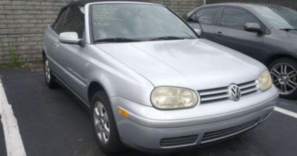 Used Volkswagen Cabrio For Sale Cargurus