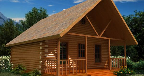 24x30 with loft log cabin wee homes i pinterest for 24x30 house plans