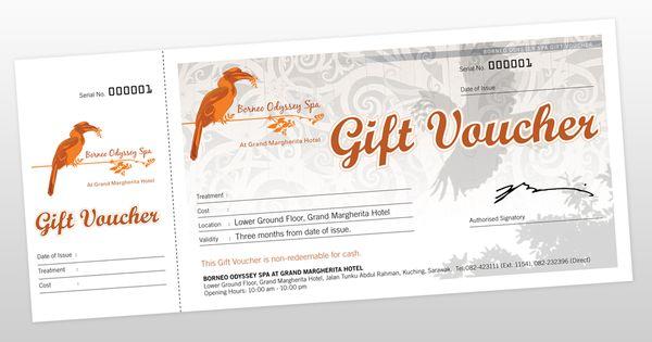 Gift Voucher Design Design Ideas Pinterest – Voucher Design