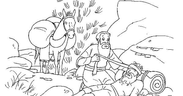 barmhartige samaritaan godsdienst knutselen