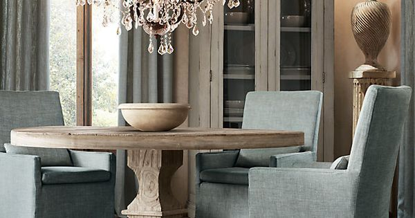 Dumont Round Dining Table | | Restoration Hardware get more ...