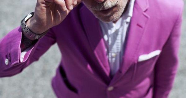 Nick Wooster / Pink blazer