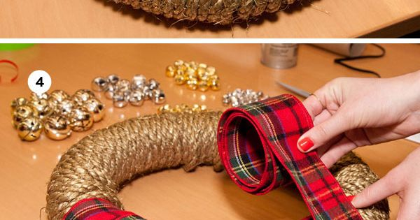 My wreath DIY via @Country Living Magazine pinspirationparty