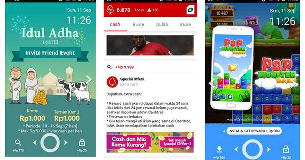 Dapat Pulsa Gratis Aplikasi Android Aplikasi Android