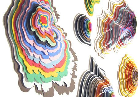 28 ideas and examples of amazing paper art jen stark for 3d paper craft ideas from jen stark