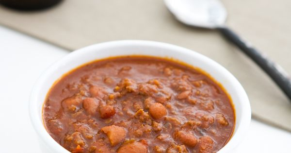 Smoky Firehouse Chili by @Angie McGowan (Eclectic Recipes ...