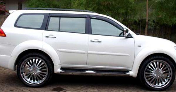 Modif Mitsubishi Pajero Sport Putih Mobil
